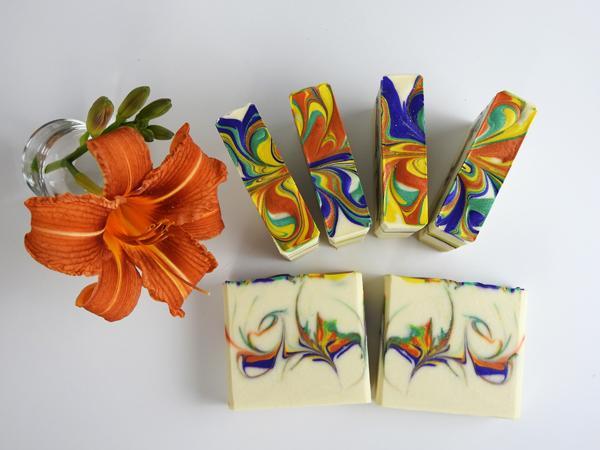 savon saponifié à froid surgras Tropical