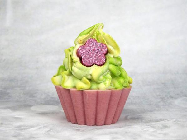 savon saponifie à froid cupcake Flower