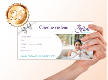 carte cadeau cosmetique naturel