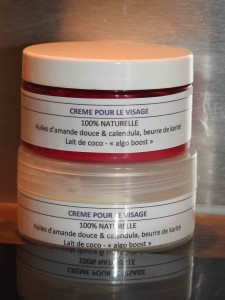 crème visage anti-âge lait de coco
