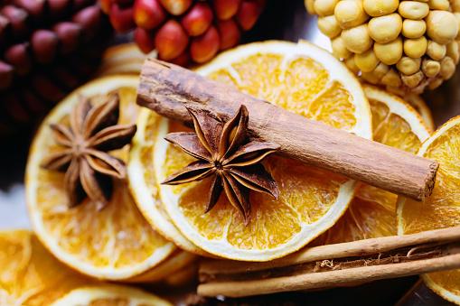 savon à l'orange et à la cannelle